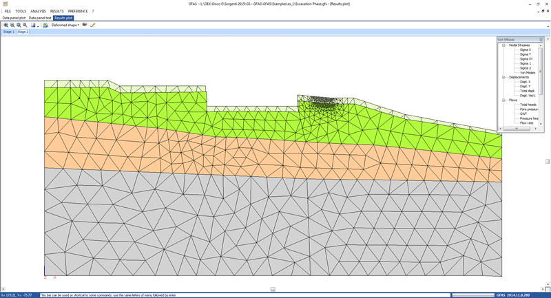 GFAS - Geotechnical and FEM analysis system