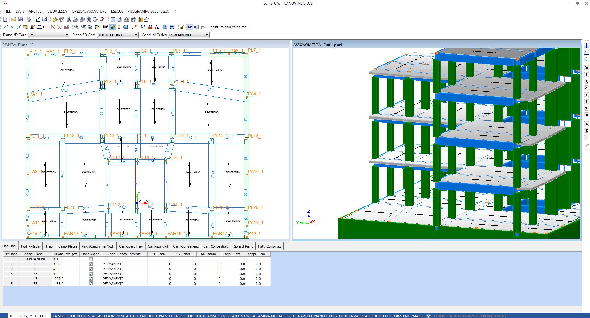 Software calcolo strutturale edifici in ca for Software di progettazione di edifici domestici