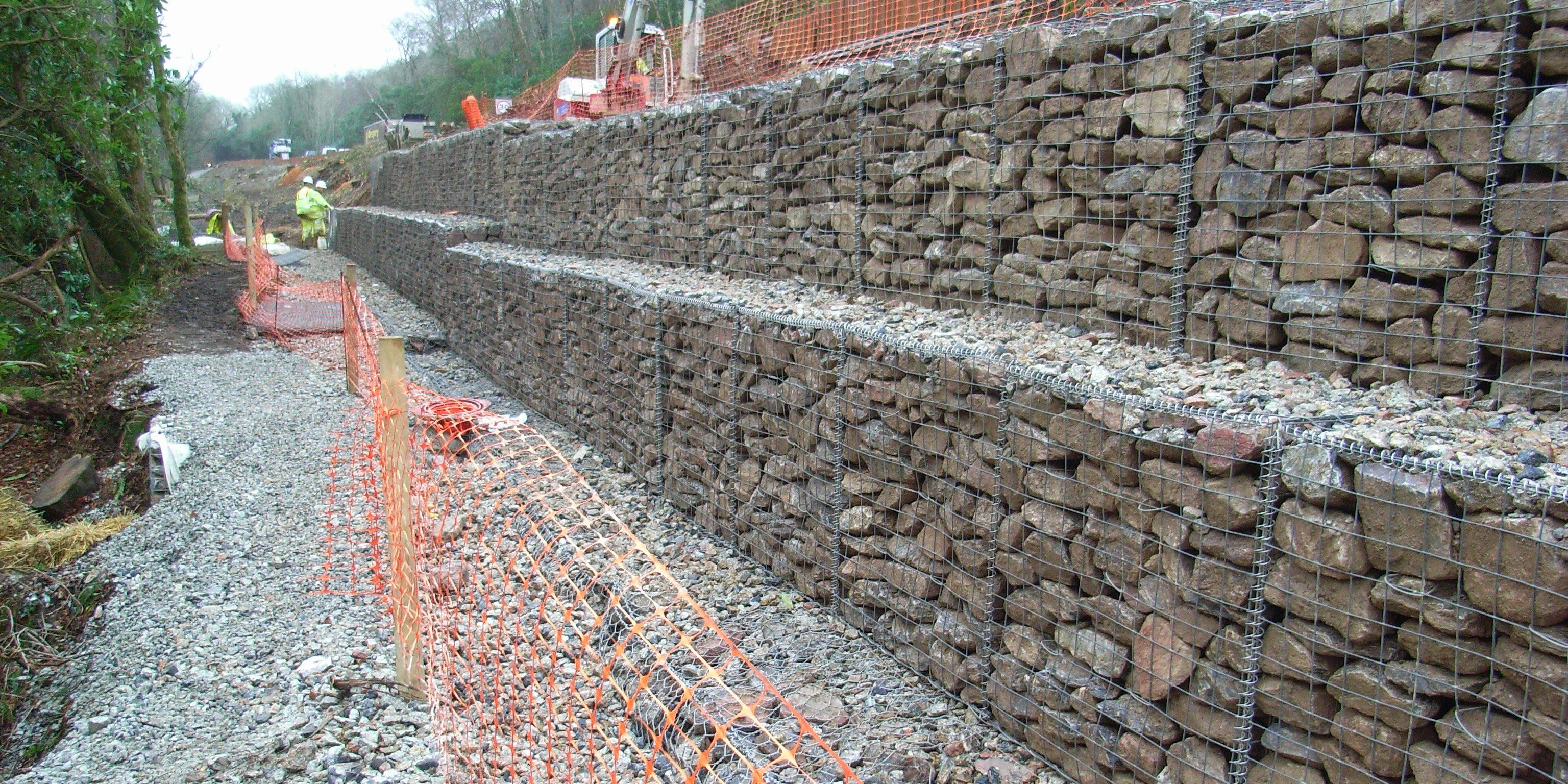 Muri Di Sostegno In Gabbioni.Muri In Gabbioni Analisi Delle Deformazioni