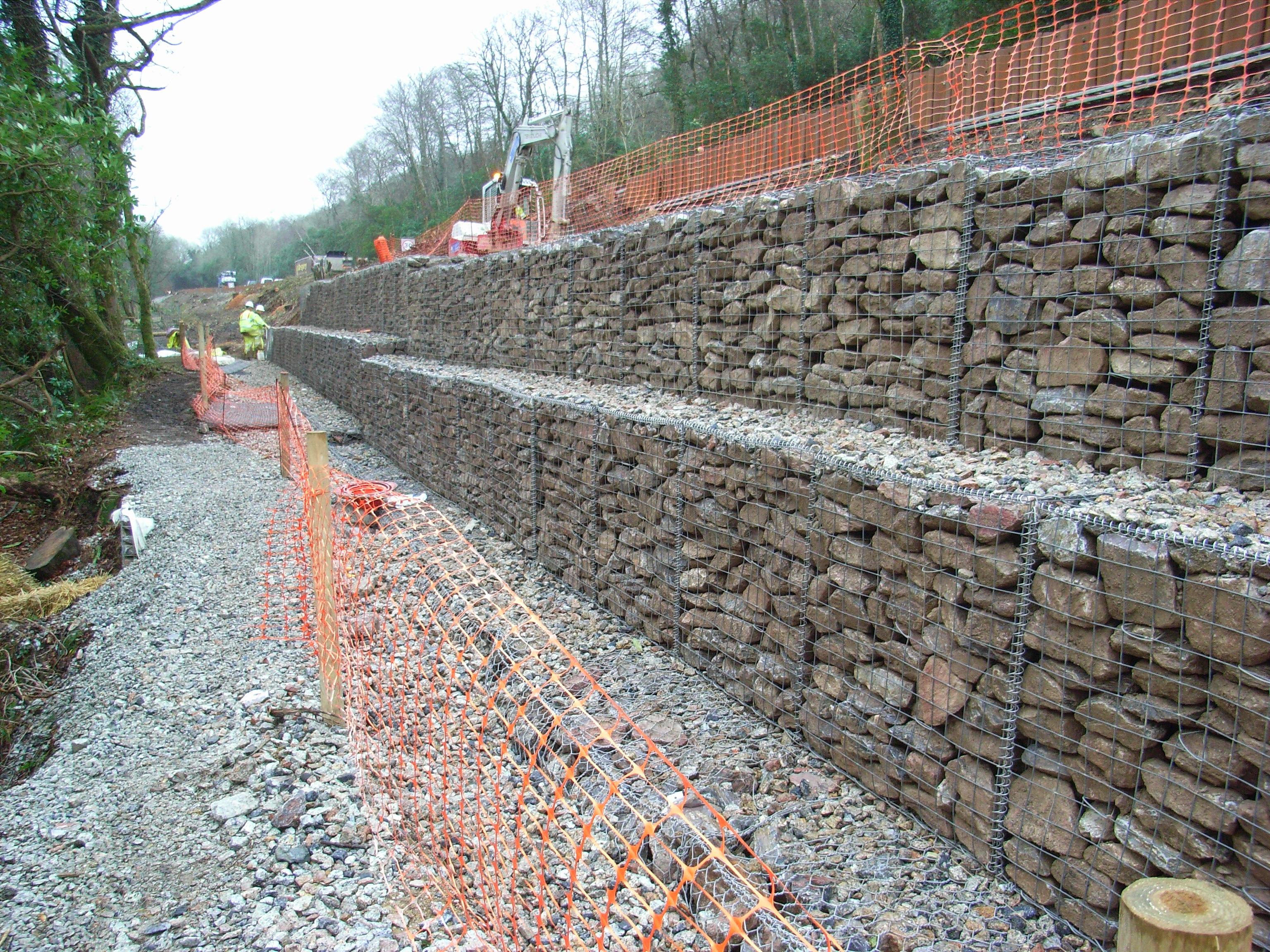 Muri In Gabbioni Analisi Delle Deformazioni