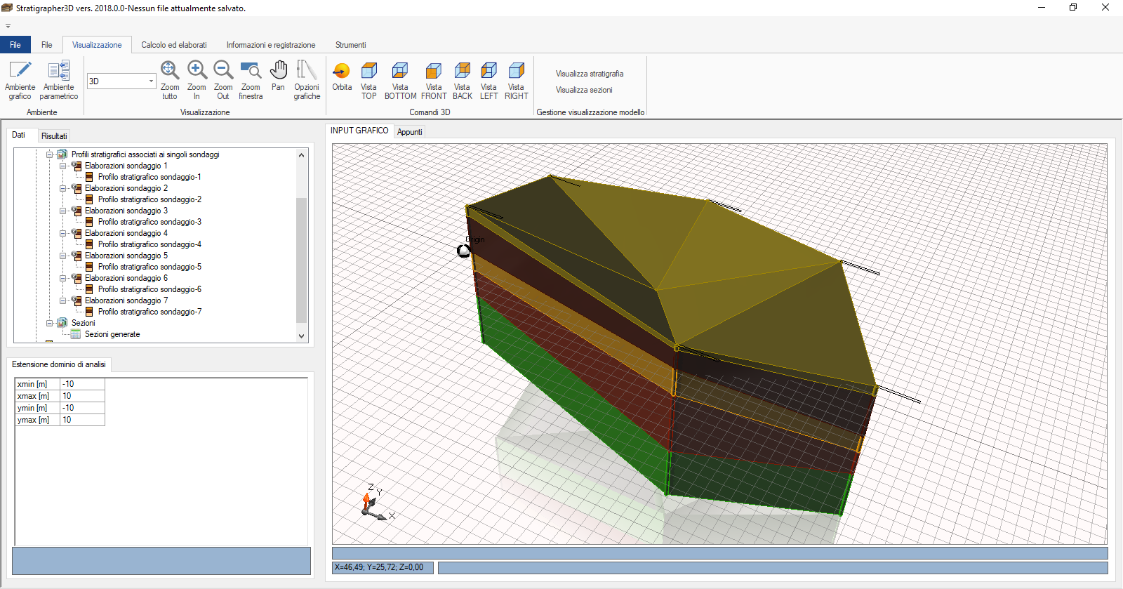 Geological & Geotechnical Modeling 3D - GM3D