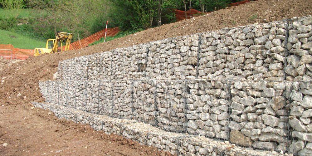 Muri Di Sostegno In Gabbioni.Muri In Gabbioni Calcolo Secondo Le Ntc 2018 Cir 2019