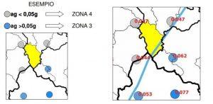 caso comune in piu zone sismica