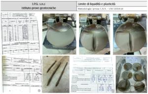 IPG Castrolibero. Limite di liquidità e plasticità